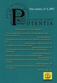 Anonyme - Potentia - revue de philosophie du centre Ahmés N° 1 : Philosophie et rationalité.