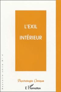 """Michèle Huguet et  Collectif - Psychologie clinique N° 4 Hiver 1997 : """"L'exil intérieur""""."""