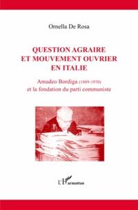 Histoiresdenlire.be Question agraire et mouvement ouvrier en Italie - Amadeo Bordiga (1889-1970) et la fondation du parti communiste Image