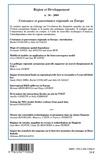 Rachel Guillain - Région et Développement N° 30 : Croissance et gouvernance régionale en Europe.