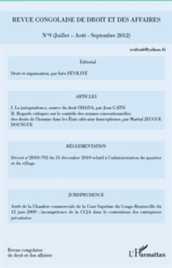 Revue congolaise de droit et des affaires N° 9.pdf