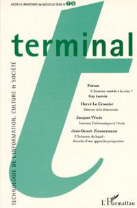 L'Harmattan - REVUE TERMINAL NUMERO 75 HIVER 1997-PRINTEMPS 1998.