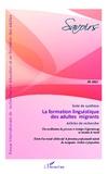 Hervé Adami et Sébastien Chaliès - Savoirs N° 29/2012 : La formation linguistique des adultes migrants.
