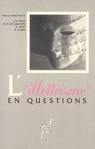 """Jean-Marie Besse - L'""""illettrisme"""" en questions."""