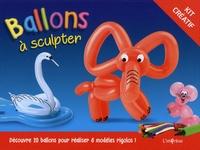 L'imprévu - Ballons à sculpter - Contient : 1 livret de 8 modèles, 20 ballons de 7 couleurs différentes, 1 pompe, des yeux à découper.
