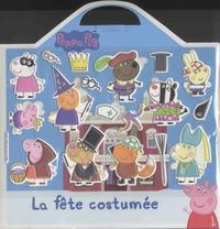 L'imprévu - Peppa Pig - La fête costumée - Avec 18 stickers mousse repositionnables et 1 grand décor.