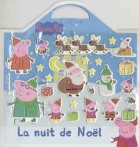 L'imprévu - Peppa Pig - La nuit de Noël - Avec 20 stickers mousse repositionnables et 1 grand décor.