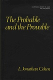L-Jonathan Cohen - The Probable and the Provable.