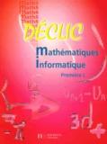 L Misset - Mathématiques Informatique 1ère L.