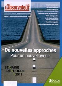 OCDE - L'Observateur de l'OCDE N° 290-291/2012 : De nouvelles approches pour un nouvel avenir - Semaine de l'OCDE 2012.