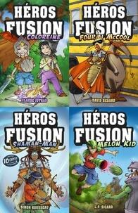 L.P. Sicard et Simon Rousseau - Héros Fusion  : Pentalogie Héros fusion.
