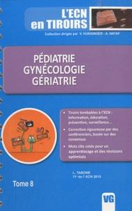 L. Tabone - Pédiatrie, gynécologie, gériatrie.