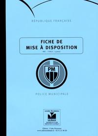 La Baule (Editions) - Fiche de mise à disposition - Police municipale.
