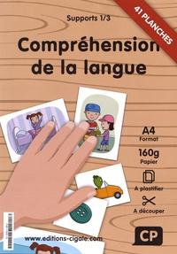 La Cigale - Supports compréhension de la langue CP - 3 volumes : 41 planches + 3 affiches + 11 planches.