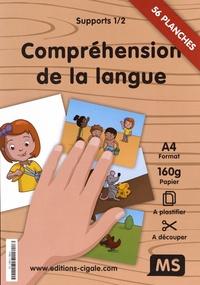 La Cigale - Supports compréhension de la langue MS - 2 volumes : 56 planches + 5 affiches.