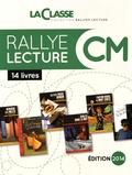 La Classe - Rallye Lecture CM - 10 livres + fichier. 1 Cédérom