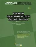 La Documentation Française - Attaché de conservation du patrimoine 2016 - Concours externe, interne, 3e concours, Catégorie A.