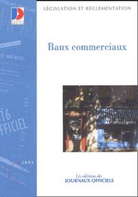 La Documentation Française - Baux commerciaux.