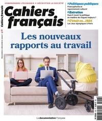 La Documentation Française - Cahiers français N° 418, novembre-déc : Les nouveaux rapports au travail.
