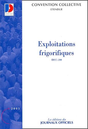 La Documentation Française - Exploitations frigorifiques.