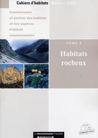 La Documentation Française - Habitats rocheux - Tome 5. 1 Cédérom