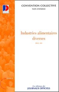 La Documentation Française - Industries alimentaires diverses.