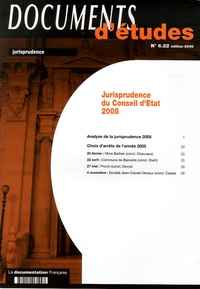 Jurisprudence du Conseil dEtat 2005.pdf