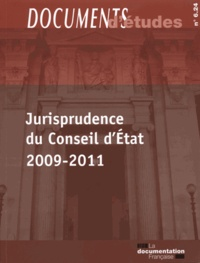 Histoiresdenlire.be Jurisprudence du Conseil d'Etat 2009-2011 Image