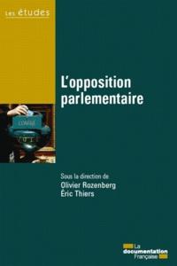 La Documentation Française - L'opposition parlementaire.