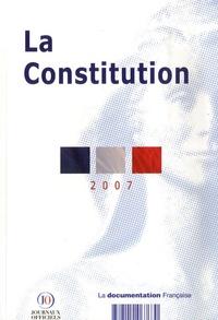 La Documentation Française - La Constitution du 4 octobre 1958 - Texte mis à jour au 1er juin 2007.