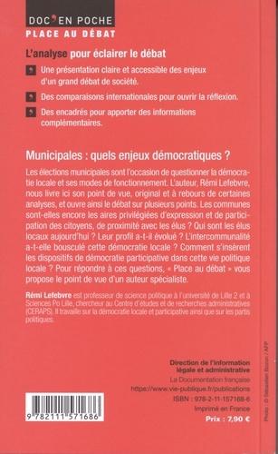 Municipales : quels enjeux démocratiques ?