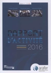 Deedr.fr Rapport d'activité 2016 de l'ARAFER Image