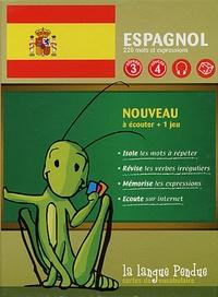 La Langue Pendue - Cartes de vocabulaire espagnol-français.