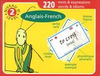 La Langue Pendue - Jeux de cartes Anglais-French Niveau 5 (2e) - 220 mots et expressions.