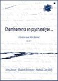 Marc Bonnet et Elisabeth Herlemont - Cheminements en psychanalyse.