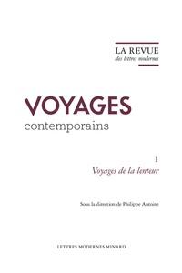Philippe Antoine - La Revue des lettres modernes - Voyages de la lenteur.