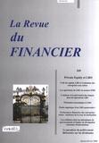 Mondher Cherif - La Revue du Financier N° 169, Janvier-févr : Private Equity et LBO.