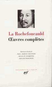 La Rochefoucauld - Oeuvres complètes.