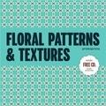 La Santa et  Rhino Studio - Floral Patterns & Textures. 1 Cédérom