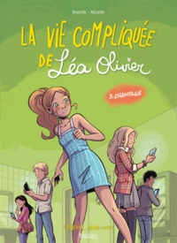 Ludo Borecki - La Vie compliquée de Léa Olivier T03 - Chantage - Version BD.