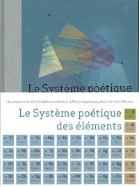 Laboratoire Novalis - Le Système poétique des éléments.
