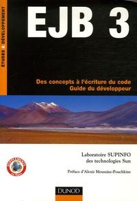 EJB 3- Des concepts à l'écriture du code - Guide du développeur -  Laboratoire Supinfo   Showmesound.org