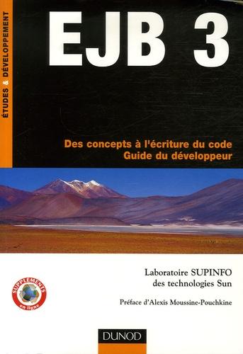 Laboratoire Supinfo - EJB 3 - Des concepts à l'écriture du code - Guide du développeur.