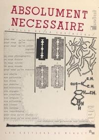 Lacasini - Absolument nécessaire - The emergency book.