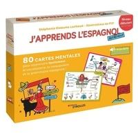 Lachaud/filf Eleaume - J'apprends l'Espagnol autrement - Niveau debutant coffret, 80 cartes mentales pour apprendre facile.