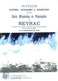 Birrascarampola.it Notice historique, physiologique et thérapeutique sur les eaux minérales et thermales de Neyrac Image