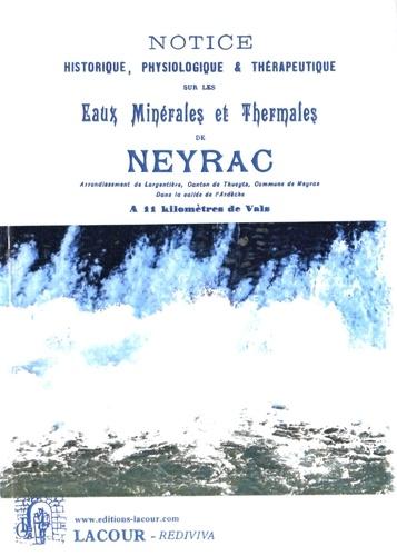 les eaux minerales et thermales