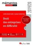 Laetitia Antonini-Cochin et Laurence-Caroline Henry - Droit des entreprises en difficulté - Intègre les dispositions de la loi Pacte du 22 mai 2019.