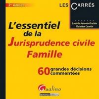 Era-circus.be L'essentiel de la jurisprudence civile Famille - 60 grandes décisions commentées Image