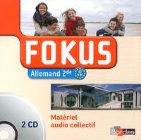 Laetitia Bally - Allemand 2e Fokus. 2 CD audio